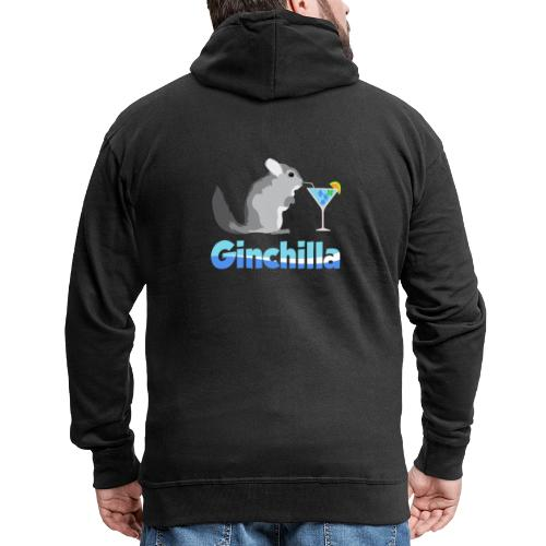 Gin chilla - Funny gift idea - Men's Premium Hooded Jacket