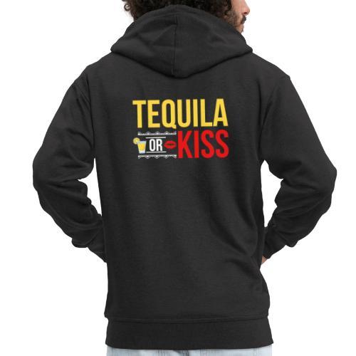 Tequilla kiss - Men's Premium Hooded Jacket