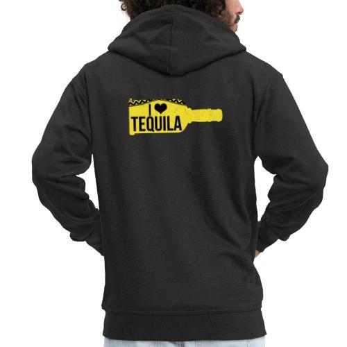 Tequila Love - gift idea - Men's Premium Hooded Jacket
