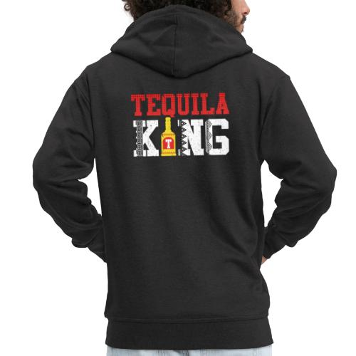 Tequila King - Men's Premium Hooded Jacket