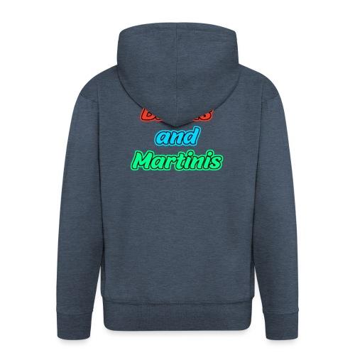 Bikinis & Martinis - Männer Premium Kapuzenjacke
