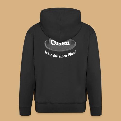 Egon Olsen ich habe einen Plan DDR Kult DEFA - Männer Premium Kapuzenjacke
