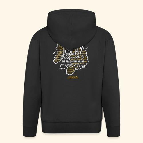 Tasting Notes Islay Whisky T Shirt Design - Männer Premium Kapuzenjacke