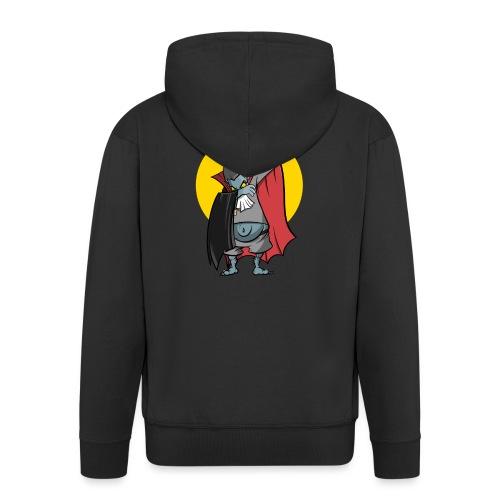 Wampir - lustiges Vampir Bierbauch Fun T-Shirt - Männer Premium Kapuzenjacke