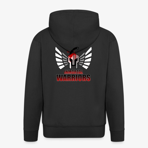 The Inmortal Warriors Team - Men's Premium Hooded Jacket