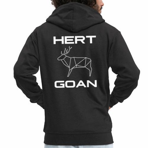Hert Goan - Mannenjack Premium met capuchon