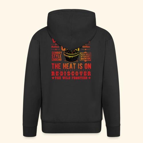 Grill-Shirt Dutch Oven Chef - Männer Premium Kapuzenjacke