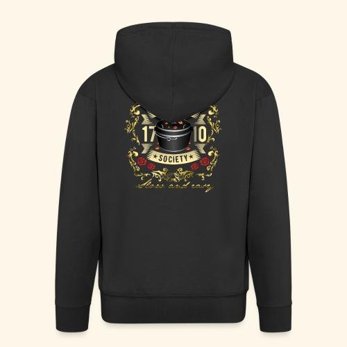 Grill-T-Shirt Dutch Oven Society - Geschenkidee! - Männer Premium Kapuzenjacke