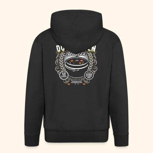Dutch Oven T Shirt Dutch Oven Master - Männer Premium Kapuzenjacke