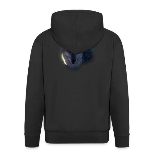 Felpa Wolf - Men's Premium Hooded Jacket