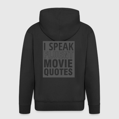 Geek: Jag talar flytande Movie Quotes - Premium-Luvjacka herr
