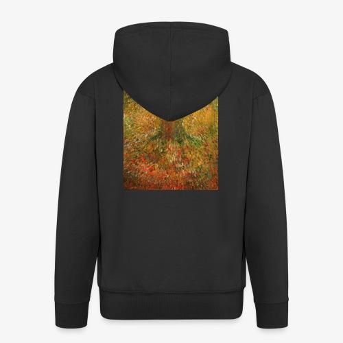 Invisible Tree - Rozpinana bluza męska z kapturem Premium