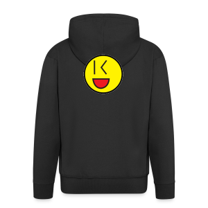 Cool Wink Smiley Hoodie - Men's Premium Hooded Jacket