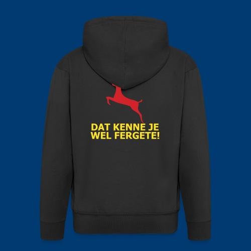 Dit is mien club! - Mannenjack Premium met capuchon