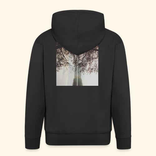 Natura - Rozpinana bluza męska z kapturem Premium