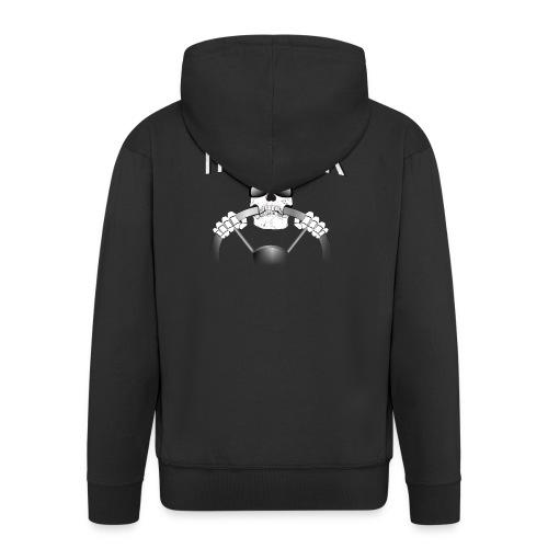 Trucker / Fernfahrer Motiv - Männer Premium Kapuzenjacke