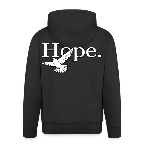 Hope (Charity) - Mannenjack Premium met capuchon