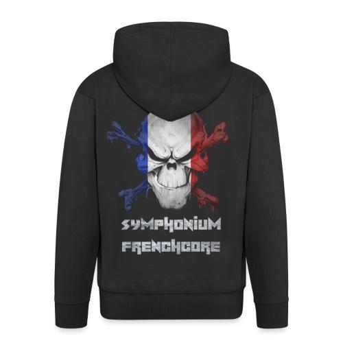symphonium Frenchcore - Veste à capuche Premium Homme