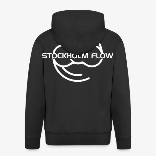 Stockholm Flow White - Premium-Luvjacka herr