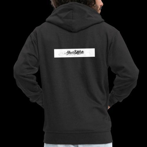 Black&white_Fashion - Männer Premium Kapuzenjacke