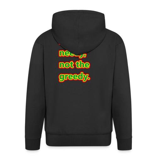 help - Men's Premium Hooded Jacket