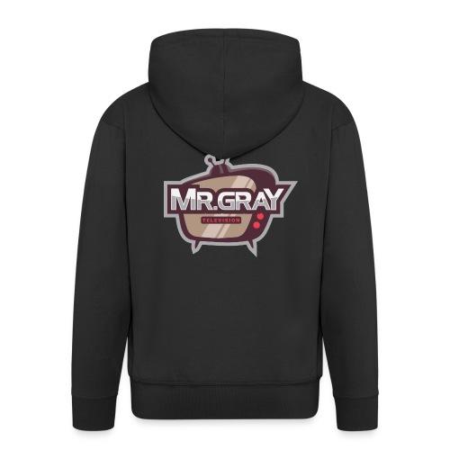 MrGrayTV - Herre premium hættejakke