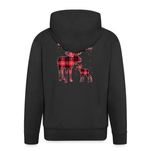 Mama Moose - Men's Premium Hooded Jacket