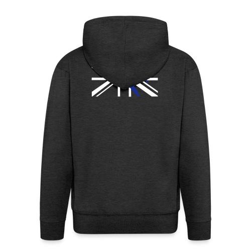 ukflagsmlWhite - Men's Premium Hooded Jacket