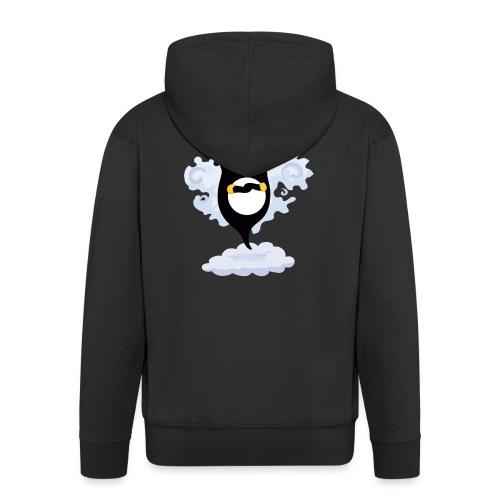 Génie Pingouin - Veste à capuche Premium Homme
