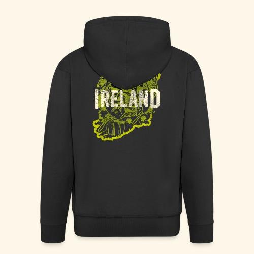 Ireland T Shirt Design - Männer Premium Kapuzenjacke