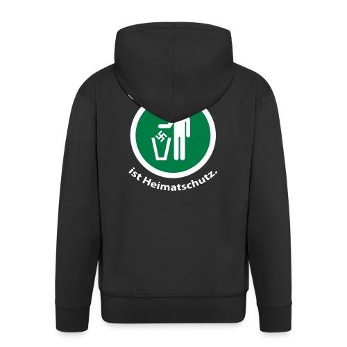 Umweltschutz ist Heimatschutz - Männer Premium Kapuzenjacke