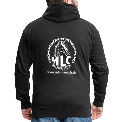 MLC Logo - Männer Premium Kapuzenjacke