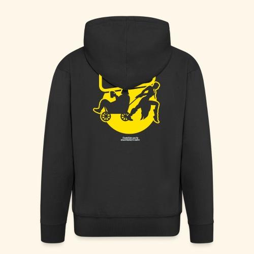 Vatertags T Shirt Team Vatertag - Männer Premium Kapuzenjacke