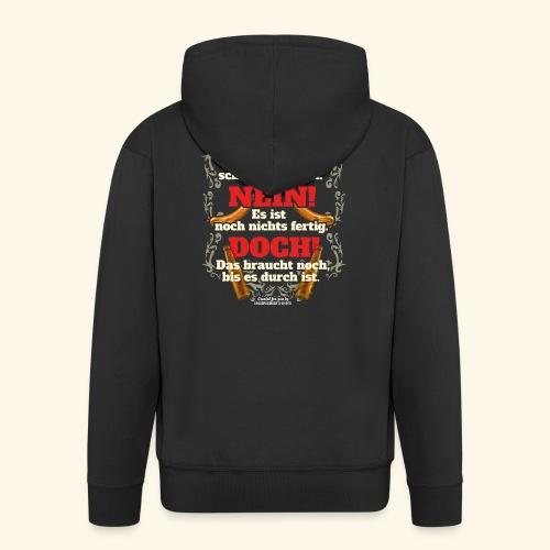 Grill T Shirt | witziger Spruch | Geschenkidee - Männer Premium Kapuzenjacke