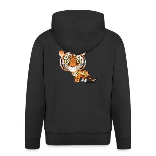 Tiger - Männer Premium Kapuzenjacke