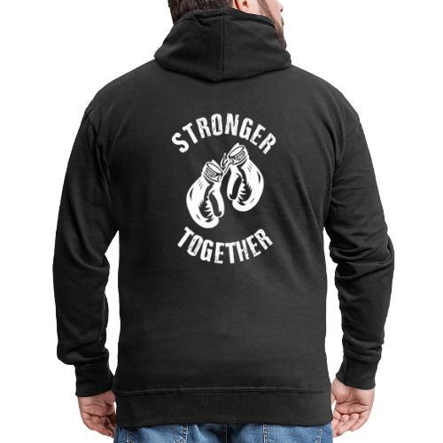 Stronger Together - Männer Premium Kapuzenjacke