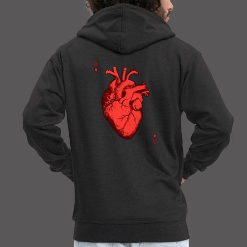 Herz Ass - Männer Premium Kapuzenjacke
