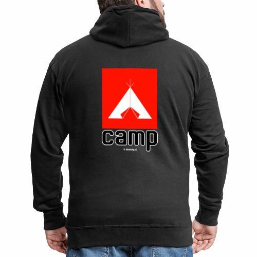 Camp - Mannenjack Premium met capuchon