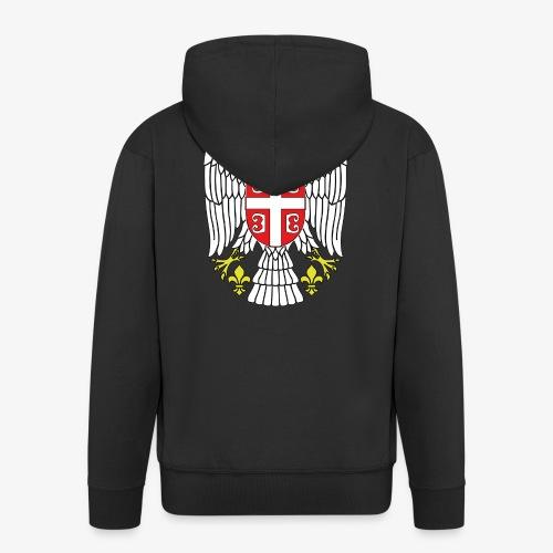 Serbien Adler - Männer Premium Kapuzenjacke