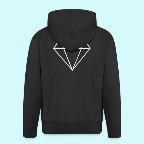 Diamant 4 - Männer Premium Kapuzenjacke