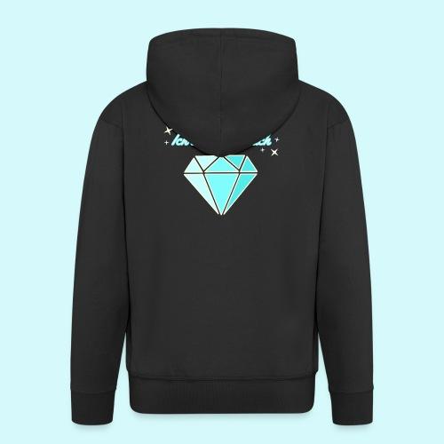 Diamant - ich starhle für dich - Männer Premium Kapuzenjacke