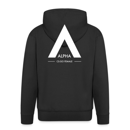 alpha_logo_svart_csgofema - Premium-Luvjacka herr