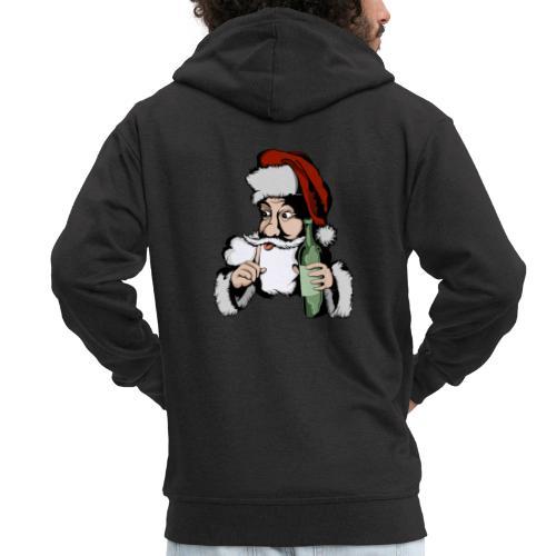 Père Noël Arrive - Santa is coming - Veste à capuche Premium Homme