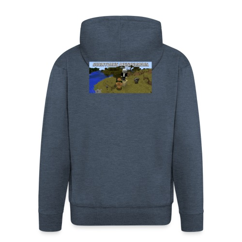 minecraft - Men's Premium Hooded Jacket