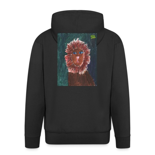 Lion T-Shirt By Isla - Men's Premium Hooded Jacket