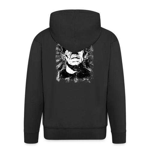 Boris Karloff/Frankenstein vintage sw - Männer Premium Kapuzenjacke