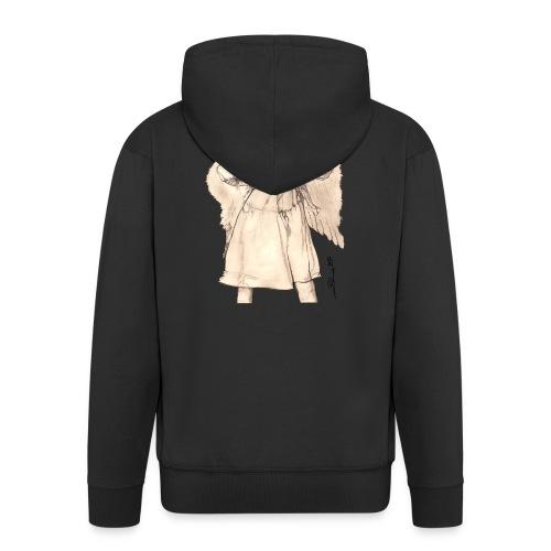 Frecher Engel - Männer Premium Kapuzenjacke