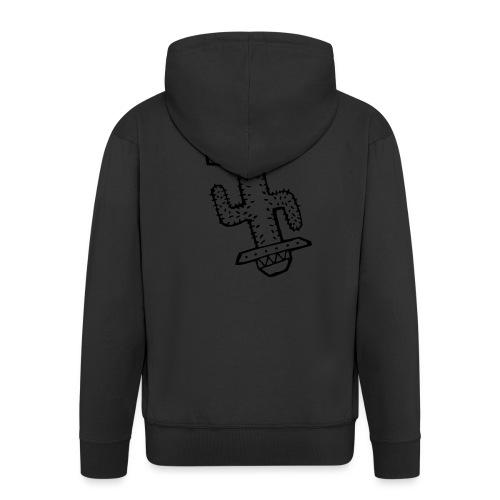 Funky Cactus - Men's Premium Hooded Jacket