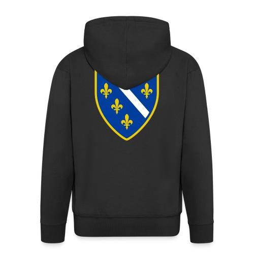 Alt bosnisches Wappen - Männer Premium Kapuzenjacke