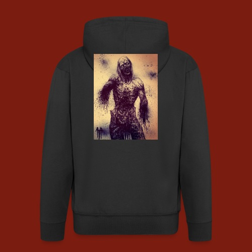 Zombie - Men's Premium Hooded Jacket